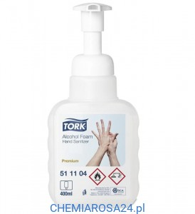 Tork piana do dezynfekcji rąk 400 ml 511104