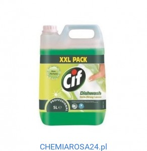 Cif Dishwash Extra Strong Lemon 5l  płyn do mycia naczyń
