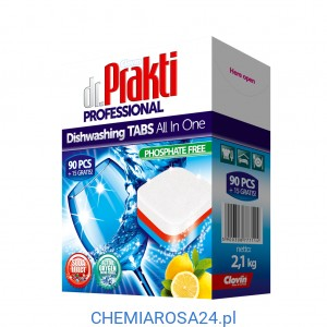 Dr. Prakti tabletki do zmywarek 90+15 gratis