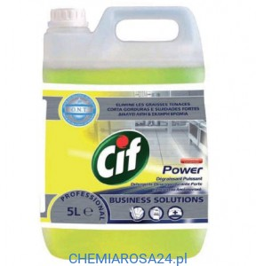 Cif Power Cleaner Degreaser Business Solutions 5L odtłuszczanie