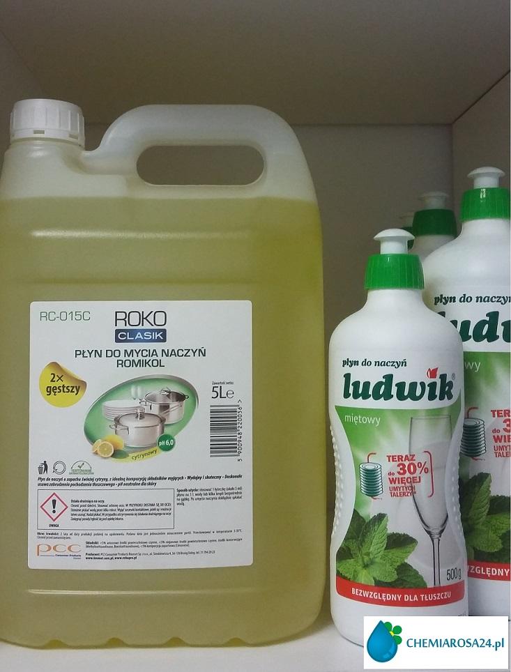 Płyny do mycia naczyń chemiarosa24.pl