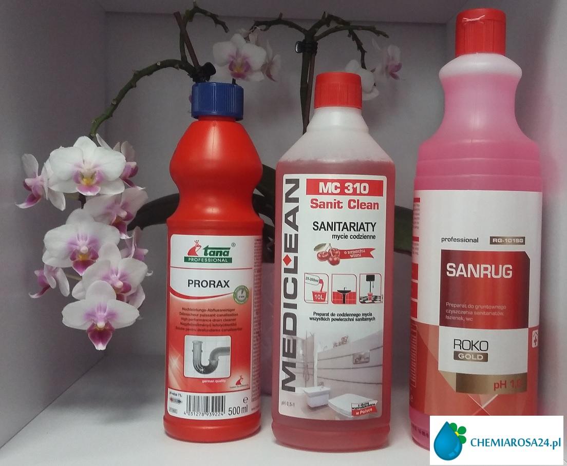 Łazienki sprzątanie chemia Rzeszów chemiarosa24.pl